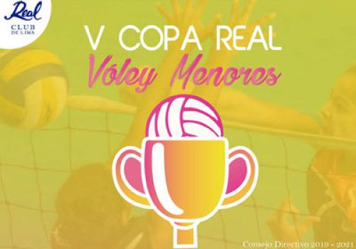 V Copa Real Vóley Menores