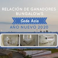 Disponibilidad de  Bungalows sede playa - JULIO